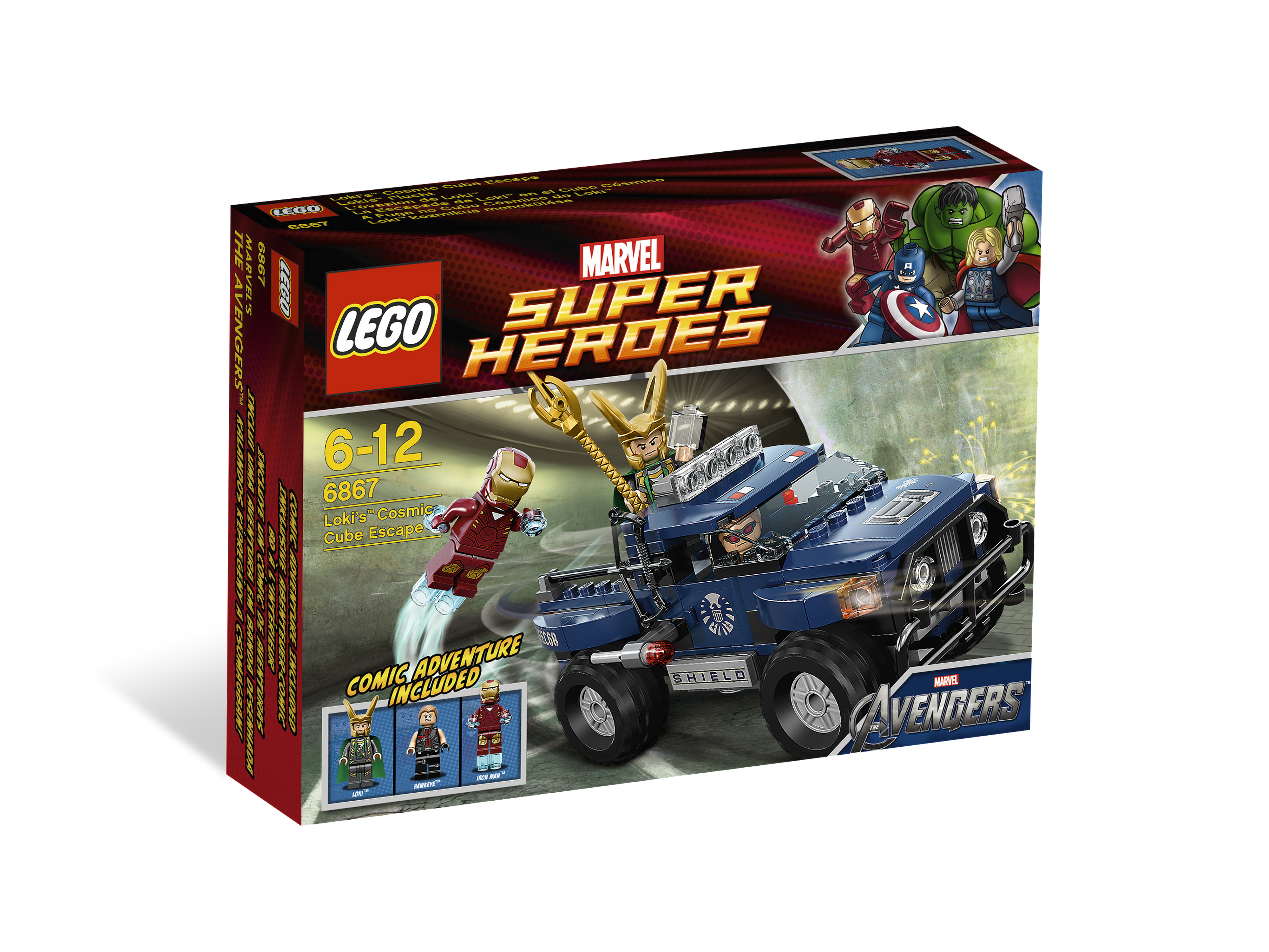 NEW LEGO IRON MAN FROM SET 6867 AVENGERS sh015