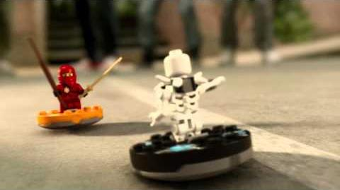 LEGO Ninjago - Kai vs Bonezai Spinner Spot