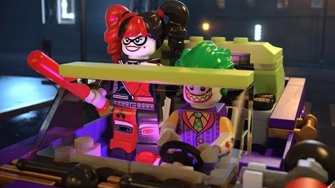 The Joker Notorious Lowrider 70906 - The LEGO Batman Movie - Product Animation