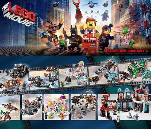 The LEGO Movie Ensembles