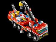 7213 Le camion tout-terrain et le bateau des pompiers 4