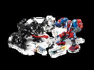 76115 Le robot de Spider-Man contre Venom 3