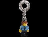 853091 Porte-clés Policier