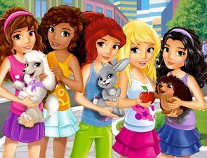 LEGO Friends Dark Brown Hedgehog Animal pet