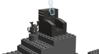 Garmadon's throne