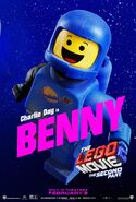 The LEGO Movie 2 Poster Benny