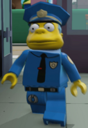 Dimensions Chief Wiggum
