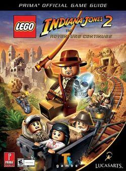 Indiana Jones 2 The Adventure Continues Prima Guide
