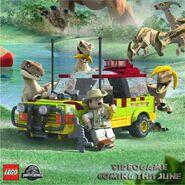 LEGO Jurassic World Vélociraptors