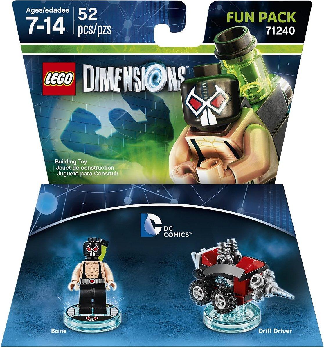 Dimensions DC Comics lego mini figure BANE 71240 6860