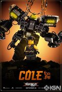 The LEGO Ninjago Movie Poster Cole Ign