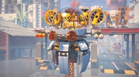 Flying Jelly Sub - LEGO NINJAGO Movie - 70610 - Product Animation