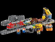 60098 Le train de marchandises rouge