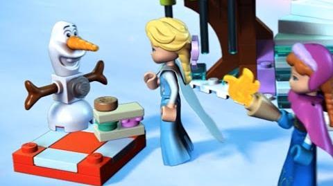LEGO Disney Princess - Elsa's Sparkling Ice Castle 40162