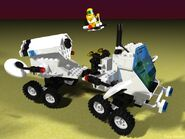 6925 Interplanetary Rover raytrace