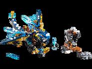 70602 Le dragon élémentaire de Jay