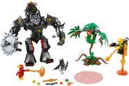 76117 Batman Mech vs Poison Ivy Mech