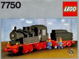 7750 Steam Engine with Tender