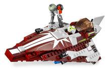 7751 Ahsoka's Starfighter & Droids