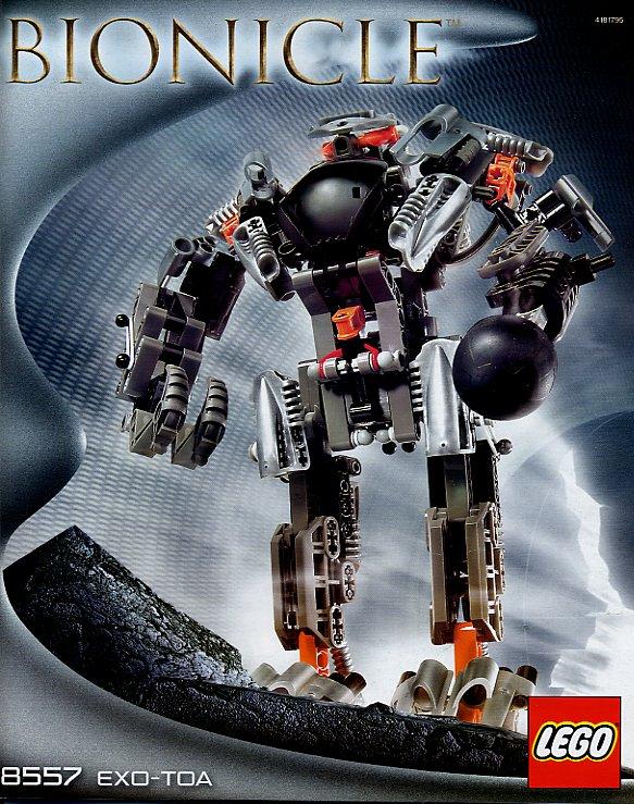 C158 Lego 8554 Bionicle Mata Nui Bohrok Va Tahnok Va complet de 2002