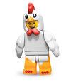 Série 9 Homme déguisé en poulet