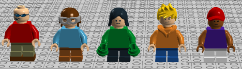 Sector V minifigs2