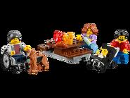 60134 Le parc de loisirs - Ensemble de figurines City 2