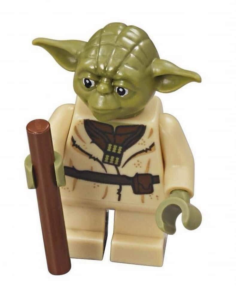Lego Yoda 75142 75233 75168 Olive Green Star Wars Minifigure