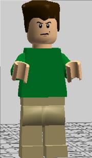 Sandman Custom Lego
