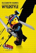 The LEGO Movie Poster Wyldstyle 2