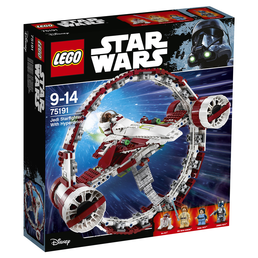 jedi starfighter with hyperdrive booster ring - Lego Star Wars Vaisseau Clone