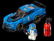 75891 La voiture de course Chevrolet Camaro ZL1