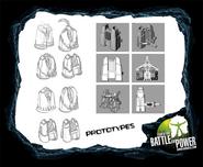 Prototype Bio Jetpacks