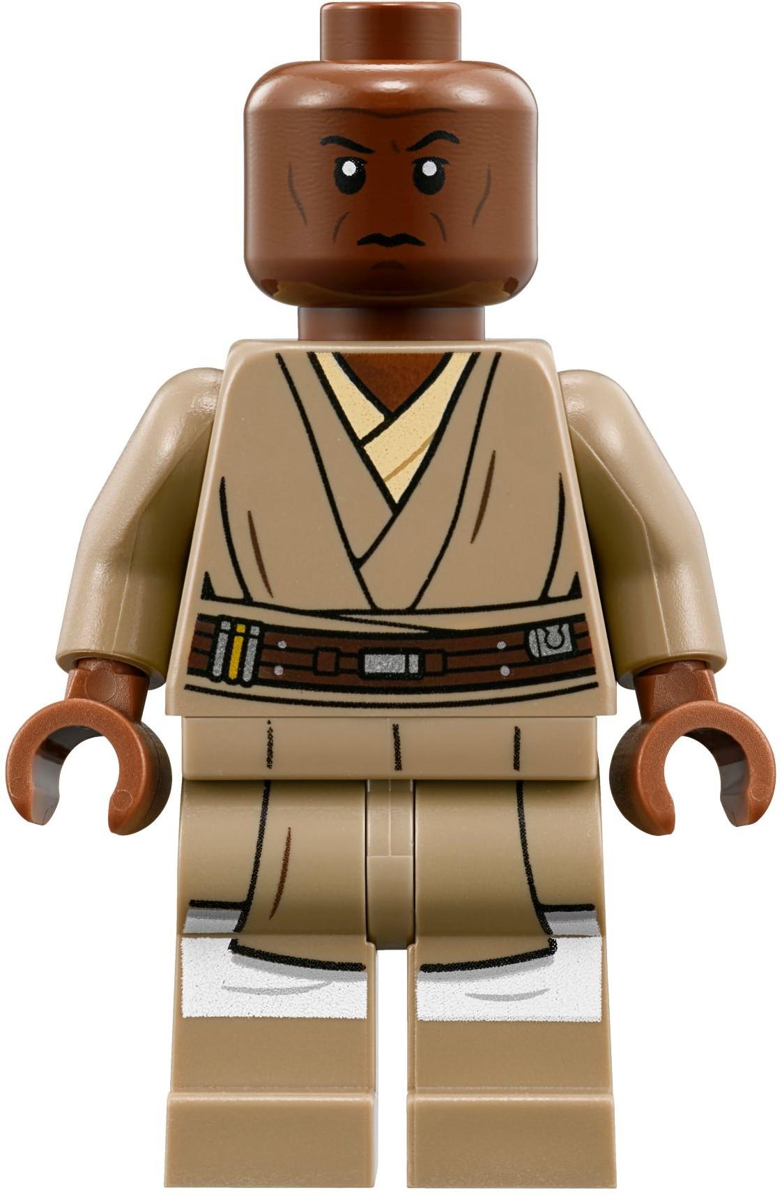 LEGO Star Wars Clone Wars Mace Windu Minifigure 7868 8019 minifigures jedi C1