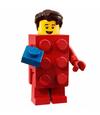 Série 18 Homme déguisé en brique LEGO