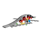 10872 Les rails et le pont du train 2
