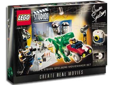 1349 Lego Studios Steven Spielberg Moviemaker Set Brickipedia