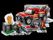 60231 Le camion du chef des pompiers 2