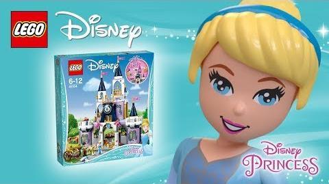 Cinderella's Dream Castle - Product Animation - 41154 LEGO Disney