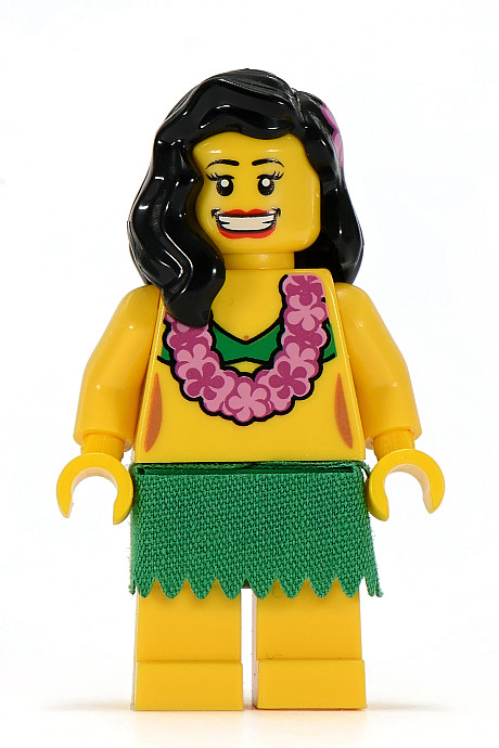 Lego Series 3 Hula Dancer Minifigure