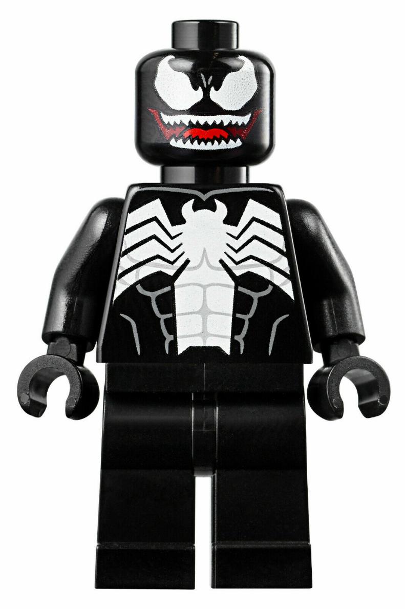 Lego Evil squelette figurine x 1 noir version