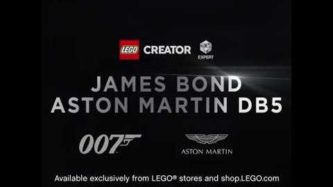 LEGO Creator Expert 10262 James Bond Aston Martin DB5 launch video