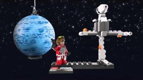 LEGO Star Wars 75010 B-Wing Starfighter und Endor