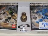 65297 BIONICLE Twin-Pack with Gold Mask