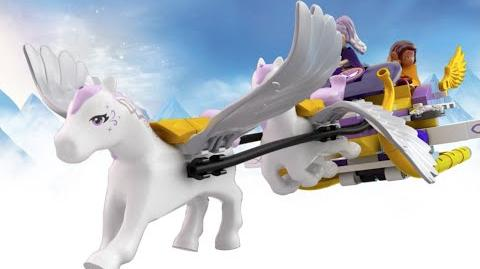 Aira's Pegasus Sleigh - LEGO Elves - 41077 - Product Animation