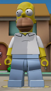 Dimensions Homer Simpson