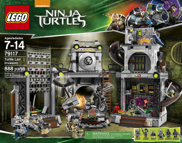 79117 Turtle Lair Invasion | Brickipedia | FANDOM powered by Wikia