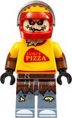 Lego scarecrow pizza