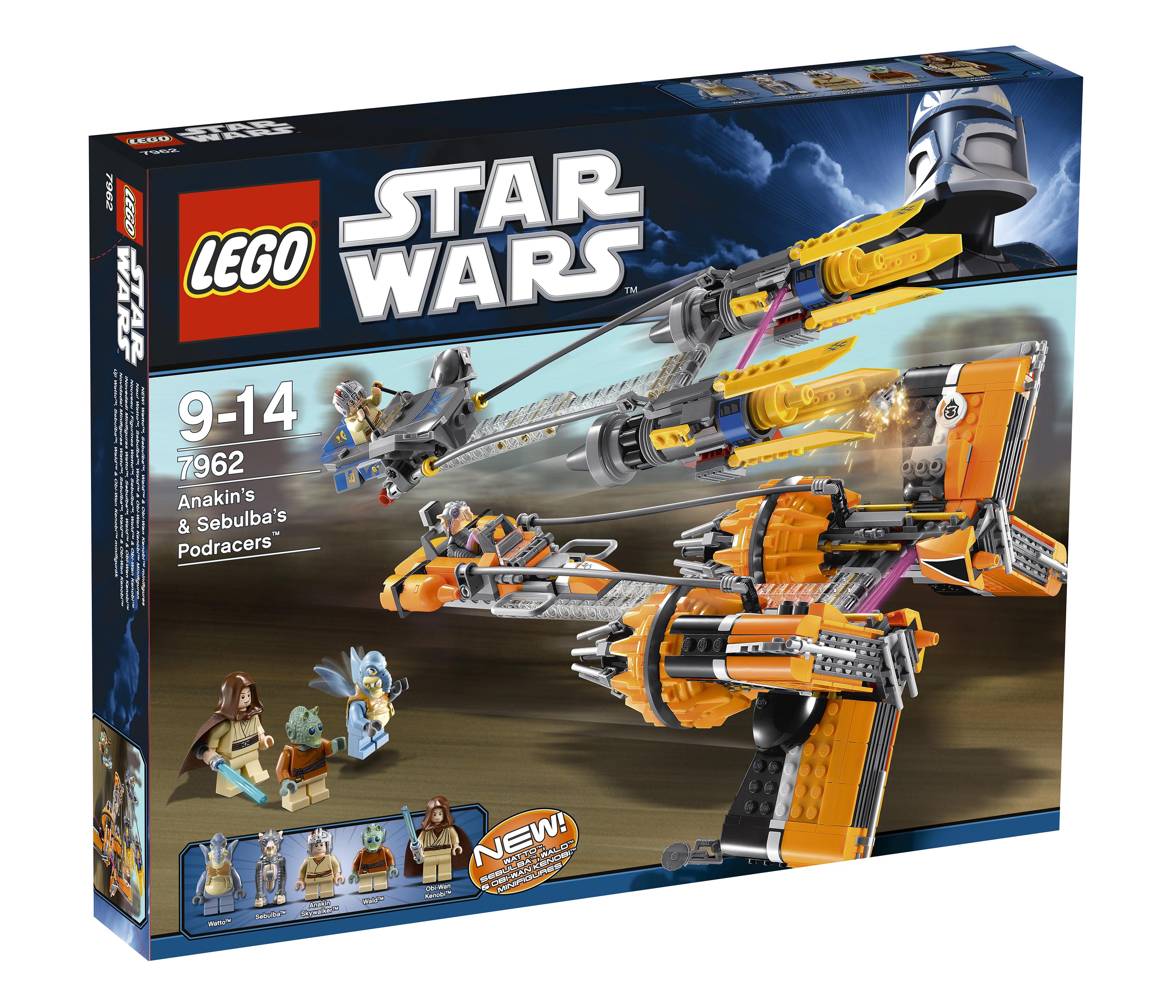 LEGO Bau- & Konstruktionsspielzeug ### LEGO® Star Wars™ Mini Figur Wald aus Set 7962 NEU ###