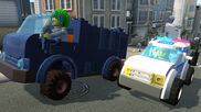 Lego City U Police car